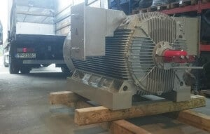 1300kW electric motor