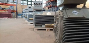 500kW electric motors