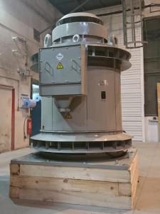 Vertical 710kW motor