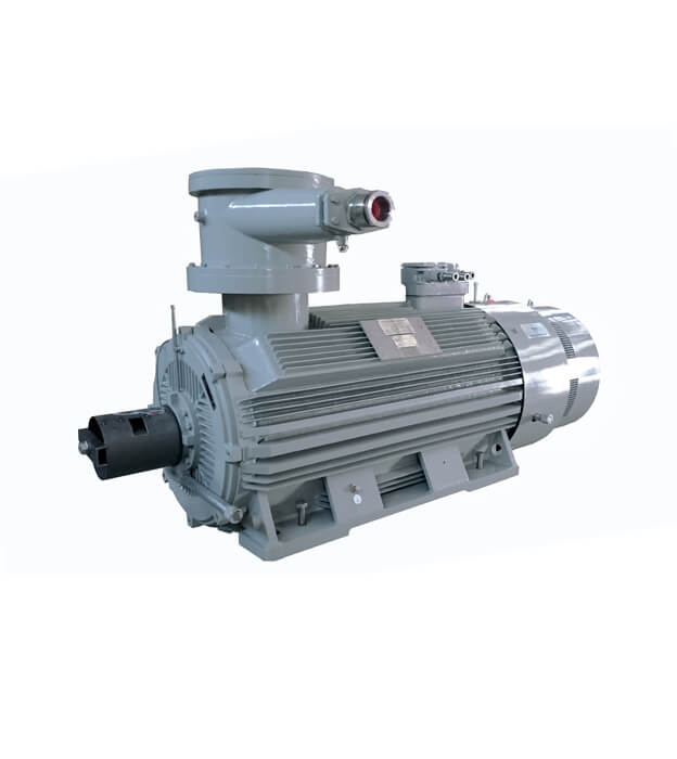 explosion proof high voltage motors - IC411