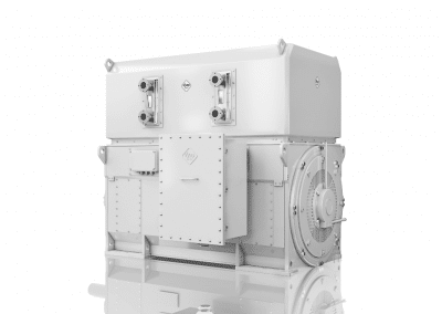 High voltage electric motors-water cooled