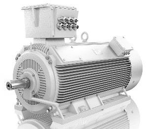 Low Voltage compact frame motors
