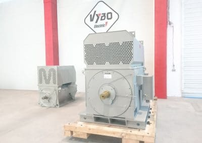 electric motors manufacture high voltage