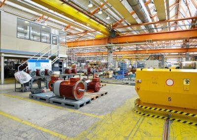 european manufacture and supplier electric motors