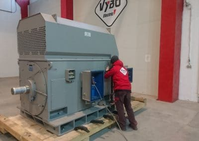 high voltage motors manufacture europe