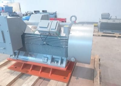 high voltage motors vybo