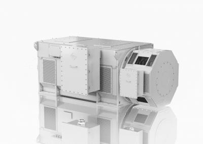 medium high voltage electric motor