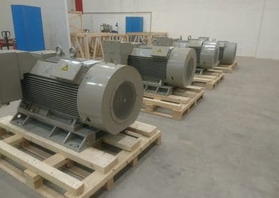 medium voltage motors manufacture