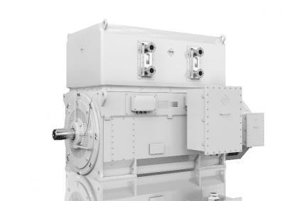 slipring motors water cooled