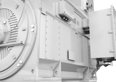 vybo electric modular slip ring motor