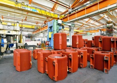 manufacture electric motors europe
