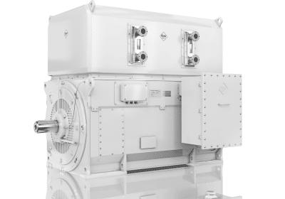 medium voltage electric motor water cooled