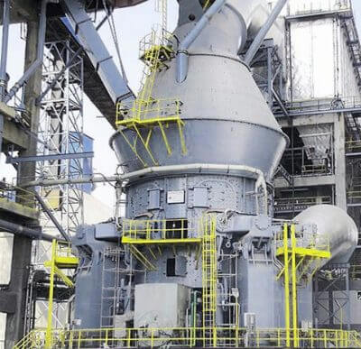 Cement mill motor