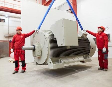 high voltage motors 6000V