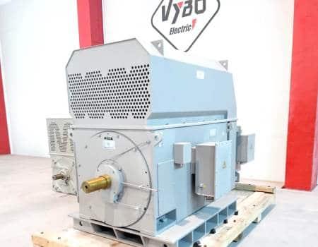 high voltage slip ring motors