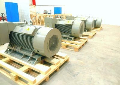Medium and high voltage motors