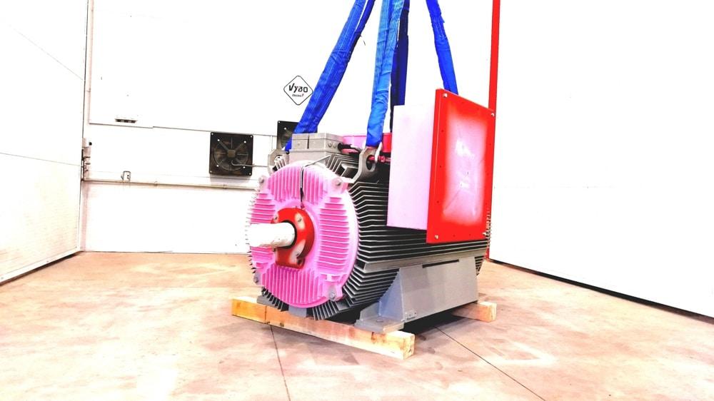 Medium and high voltage motors