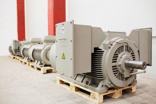 medium and high voltage motors manufacture