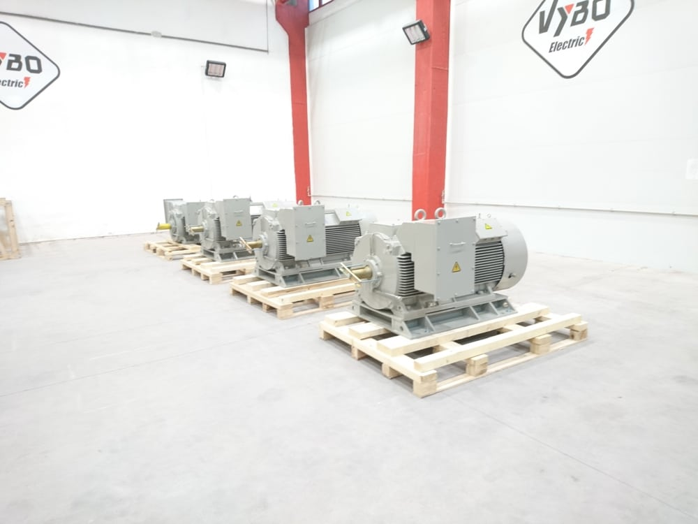 medium voltage motors 6000V