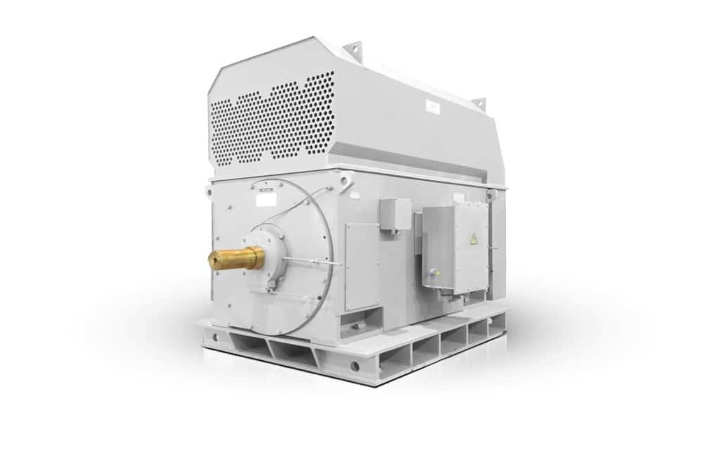 medium voltage slip ring motors