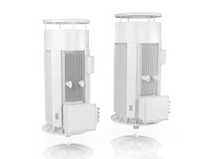 Low Voltage vertical motors