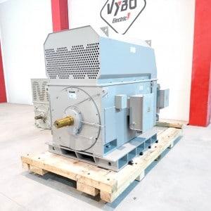 Silnik z pierścieniem ślizgowym o mocy 800 kW