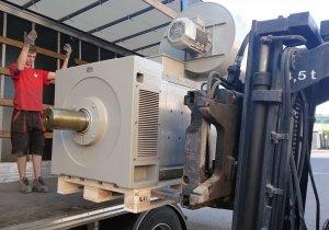 Silnik prądu stałego 620 kW
