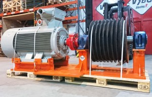 electric motor 250kw 8pol
