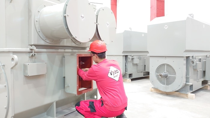 mv hv induction electric motors