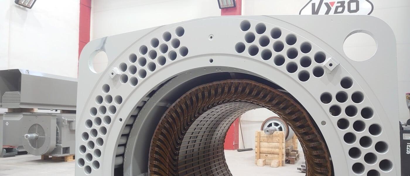 medium voltage electric motors manufacture